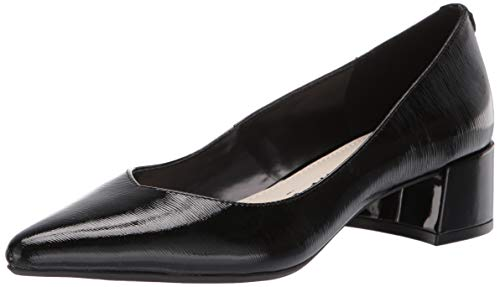 Anne Klein Women's Norwood Pump, Black Patent, 6 M US Anne Klein Black Dress