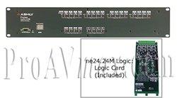 Ashly Audio Protea ne24.24M 12x4 Logic : 12x4 - ne24.24M 12x4 Logic ()