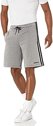 Adidas Mens Essentials 3-Stripes Fleece Shorts