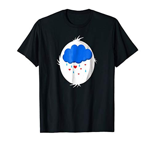 Grumpy Halloween Costume Rain Cloud Heart t-shirt ()