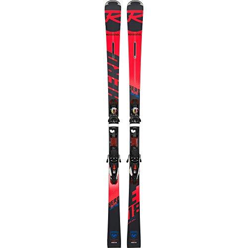 Rossignol – Skis Hero Elite Lt Ti + Fixations Nx12 Konnect.Dual Homme – Homme – Noir