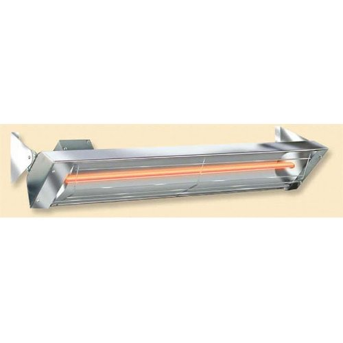 Infratech Stainless Steel Single Element Electric Quartz Heaters, Watts: 500, Length: 19-1/2'', Model: W-512 SS by Infratech