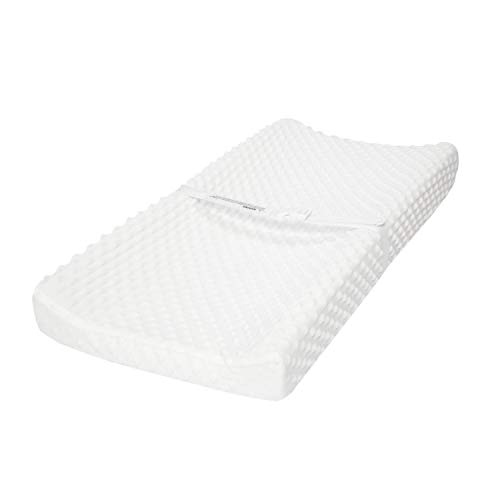 - TILLYOU Minky Dot Changing Pad Cover Warm - Luxury Cradle Sheet Unisex Baby Changing Table Sheets - 32