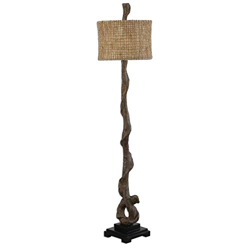 Uttermost 28970 Driftwood Floor Lamp, Brown