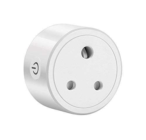 Orient Electric Plastic i-Nex WiFi Enabled Smart Socket Plug 10A (Compatible with Amazon Alexa & Google Home)(White)