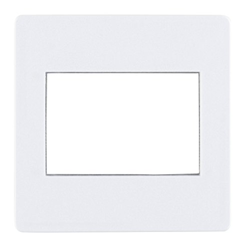 Gepe 457011 35mm Glassless Slide Mount with Metal Mask, 2mm Thick, 100 Pack (White) - Slide Mount