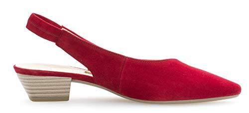 de 25 fashion zapatos 630 Rubin slingback Tacon Mujer Gabor De Moda 6T0qT
