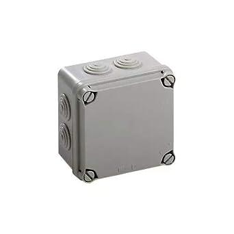 IDE EV111 IP65 Caja Estanca de Derivación con Tapa Opaca y Conos ...
