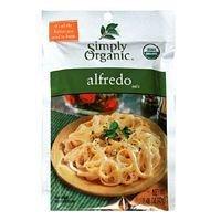 Simply Organic Alfredo 1.48 Oz (Pack of 12) - Pack Of (Simply Organic Alfredo)
