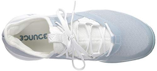 adidas Women's Adizero Defiant Bounce, ash Grey/White, 5 M US by adidas (Image #8)