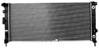 TYC 2881 Chevrolet Uplander 1-Row Plastic Aluminum Replacement Radiator