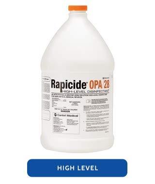 Crosstex Rapicide OPA Solution, 1 Gallon, 4/cs (45 cs/PLT) ML020127 by Crosstex International
