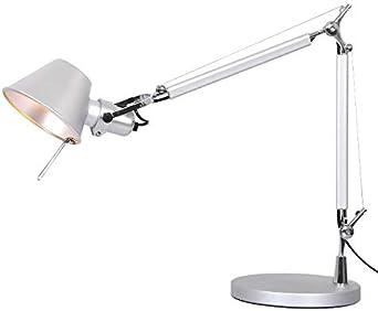 Lámparas de Escritorio LED USB Recargable Long Swing brazo lámpara ...