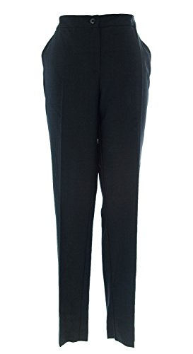 MARINA RINALDI by MaxMara Holiver Black Sequin Detailed Dress Pants 12W / 21