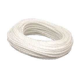 for Moving Outdoor Adventure Camping 5//16 Inch x 100 Foot Anchor Rope Mountain Climbing Katzco Nylon Twisted Braided Rope Gardening Boat Docks Towing