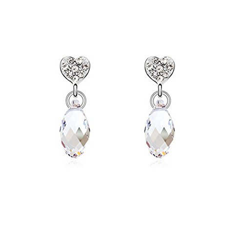 Hey♥Lady Women Popular Crystal Earrings Exquisite and Long(C5)