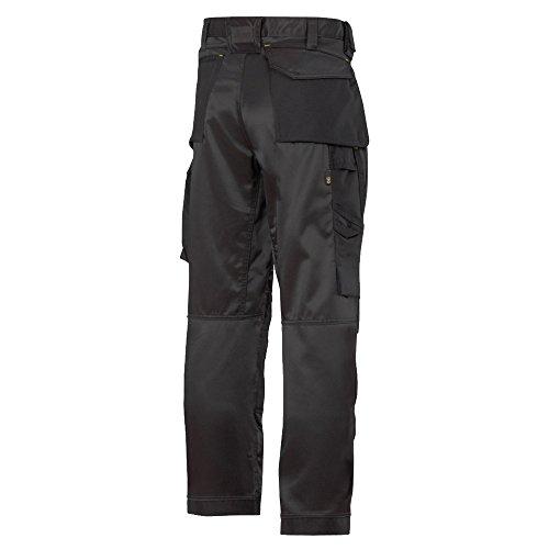 Snickers 33120404146 DuraTwill Pantalon d'Artisan Taille 146 Noir
