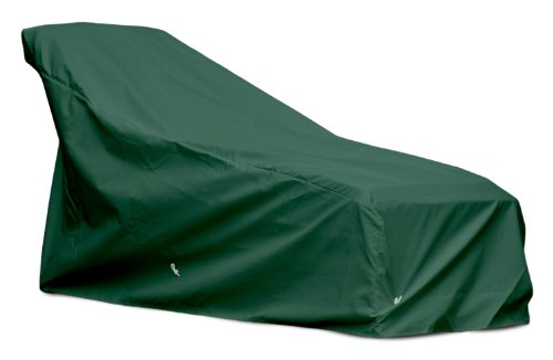 Patio Furniture Covers- KoverRoos WeatherMax Forest Green Chaise Cover- 80 x 31 x 35 in -Mold and Mildew Resistant Material- Made for All-Weather Protection- UV Shielding- Durable and Lightweight by KOVERROOS