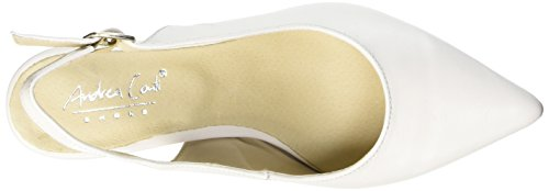 Conti 001 Back Andrea Sling Women's Pumps White Weiß 1009375 Weiß Cww7Hxd