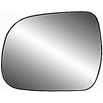 10-13 Highlander Right Passenger Mirror Glass w//Holder VAM Fits 05-15 Toyota Tacoma