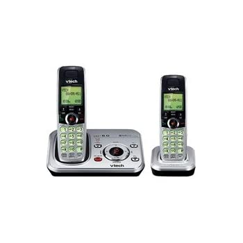 amazon com vtech cs6329 2 dect expandable two handset cordless rh amazon com vtech cs6329 2 manual vtech cs6229 2 manual