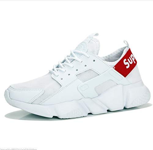 拍手成人期競争力のあるメンズ軽量ファッションスニーカーウォーキングトレーナー通気性とデオドラントメンズシューズメッシュカジュアルランニングシューズ学生野生の潮靴