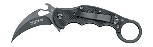 Fox 599 G10 Black Emerson Wave Folding Karambit