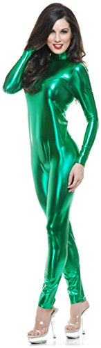 Liquid Metal Unitard Costume - Small - Dress Size 5-7 (Makeup In The 80s)