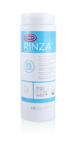 Rinza Milk Frother Cleaning Tablets 120 tablets (Rinza Milk Frother Cleaner)
