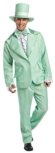 Funky Tuxedo Adult Men Costumes (70s Funky Tuxedo Pastel Green Mens Adult Costume)