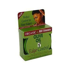 Organic Root Stimulator Hair Gel, Edge Control, Olive Oil - 2.25 oz. (Pack of 3)