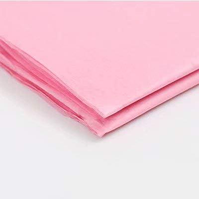 """Liroyal ラッピングペーパーシート 10 x ギフトラップ (20""""x 30"""") ピュアカラーティッシュペーパー 10Pc Pink"""