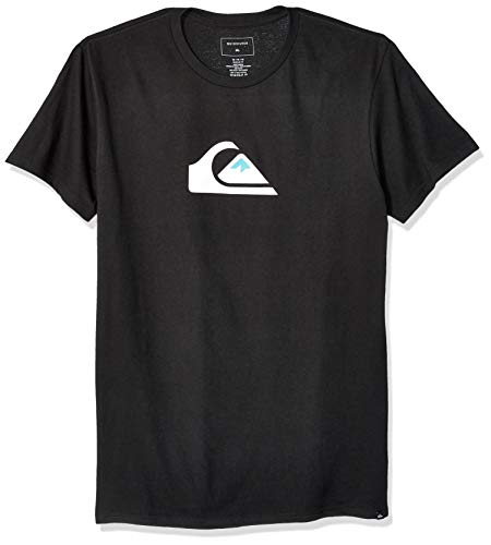 Quiksilver Men's COMP Logo TEE, Black, ()