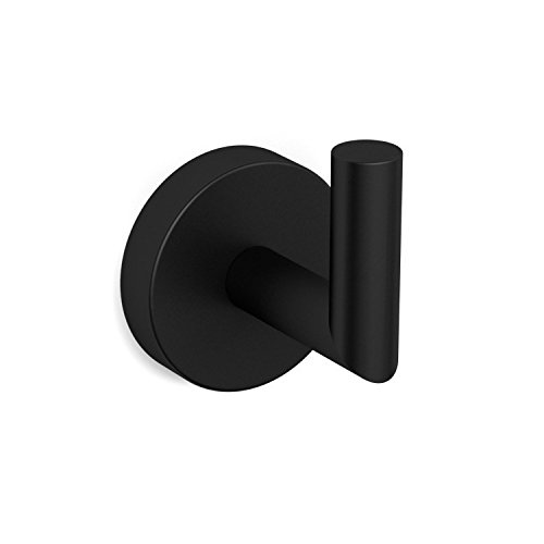 Nameeks NNBL0028 Luxury Hotel Matte Bathroom Hook, Black