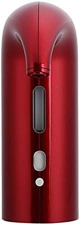 Faceuer Vertedor de aireador de Vino, Decantador de Vino eléctrico Ultra silencioso, Accesorio de Sommelier para Mejorar el Sabor y Mejorar la pureza(Black)