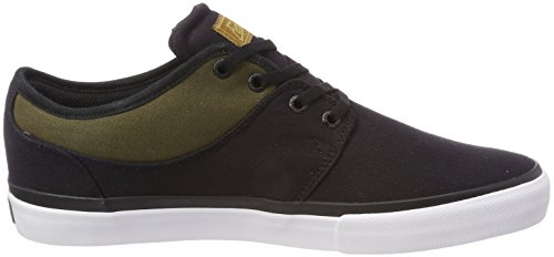 Skateboard Black Twill Mahalo Shoes Trainers Olive Skate Black Globe Wash 1wvqp5aCx