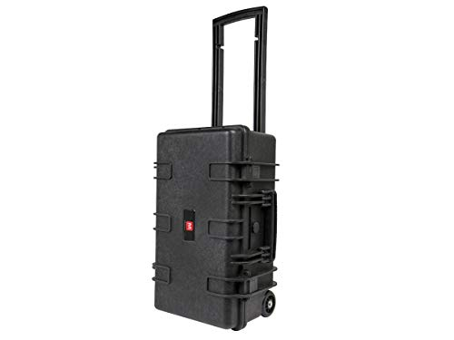 Monoprice Weatherproof Hard Case - 22 x 14 x 10 in With Customizable Foam, Shockproof, Ultraviolet And Impact Resistant -