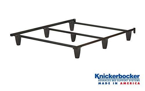 - Knickerbocker Patriot Bed Frame - Queen Size - Made in The USA - Strongest Bed Frame - Steel - No Tools