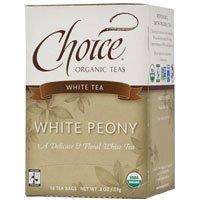 Choice Organic Teas White Tea - 16 Tea Bags