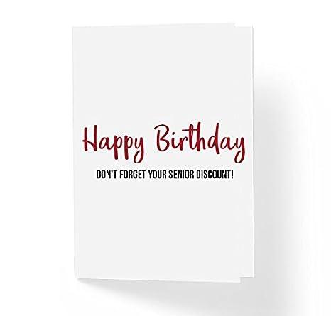 Amazon.com: Tarjeta de felicitación de cumpleaños divertida ...