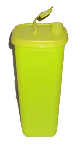 Tupperware Slim Line Pitcher 2 Quart for Refrigerator Door Neon -