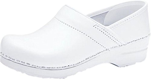 Dansko Women's Professional White Box Leather Clogs Mules 13 B(M) US by Dansko