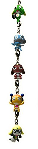 Sgt. Frog Keroro Gunso Mini Mascot Chain Collection - Set of 4 - Standard Version