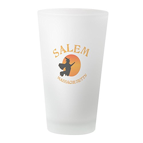 CafePress Salem Massachusetts Witch Pint Glass, 16 oz. Drinking -