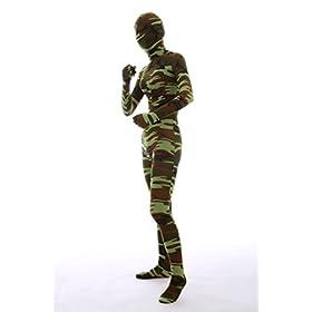 - 31l73LBukaL - Nedal Women's Camouflage Zentai Lycra Bodysuit Spandex Halloween Onesie