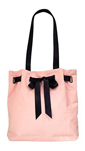 Women Canvas Casual Tote Bag - Shopping Tote Bag/Shoulder Handbags for Teens Girls, Pink