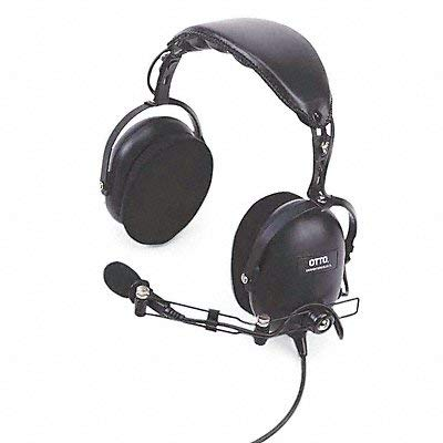 Headset Over The Head Over Ear Black