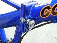 Columba 26'' Folding Bike w. Shimano 18 Speed Blue (SP26S_BLU) by Columba (Image #2)