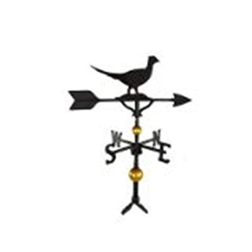 (Nemstore 300 Series 32 in. Deluxe Black Pheasant Weathervane 300 Series 32 in. Deluxe Black Pheasant Weathervane )