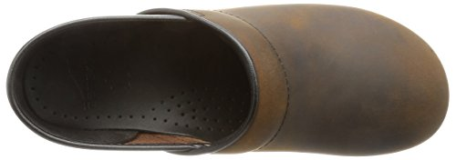 Dansko Professional Sabots femme - Antique Brown - Black Oiled Leather